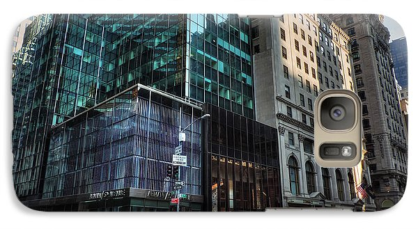 Galaxy Case featuring the photograph Manhattan - 5th Ave. 002 by Lance Vaughn