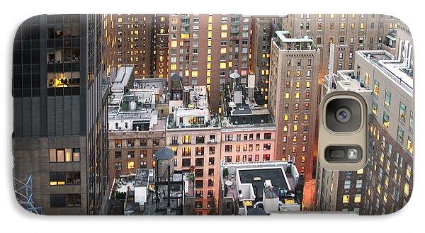 Manhattan At Dusk Galaxy S7 Case