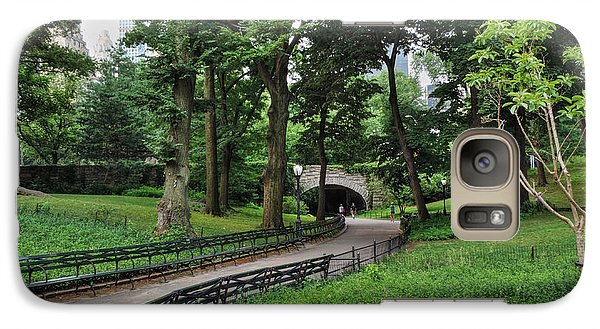 Galaxy Case featuring the photograph Manhattan - Central Park 001 by Lance Vaughn