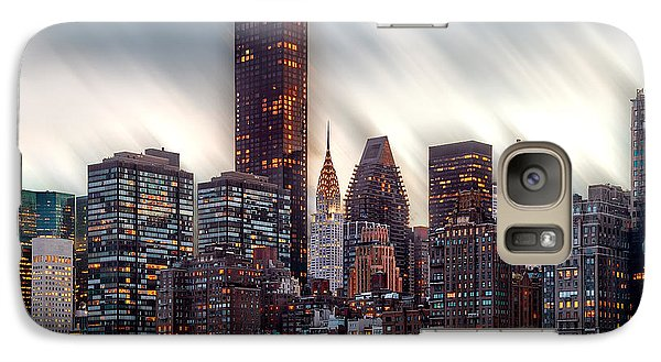 Chrysler Building Galaxy S7 Case - Manhattan Daze by Az Jackson