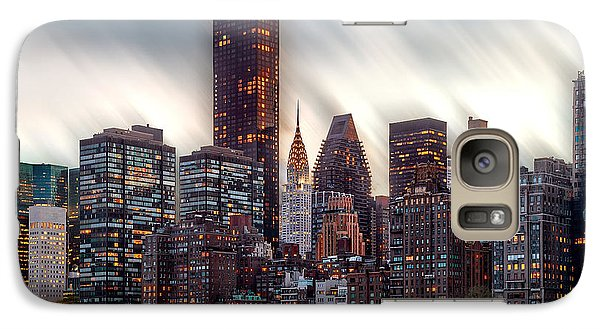 Manhattan Daze Galaxy S7 Case by Az Jackson