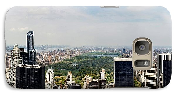 Empire State Building Galaxy S7 Case - Manhattan Haze by Az Jackson