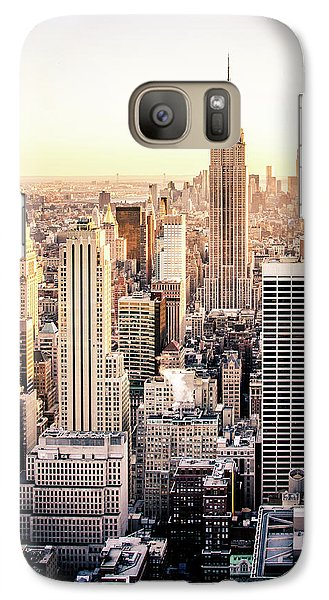 Empire State Building Galaxy S7 Case - Manhattan by Michael Weber