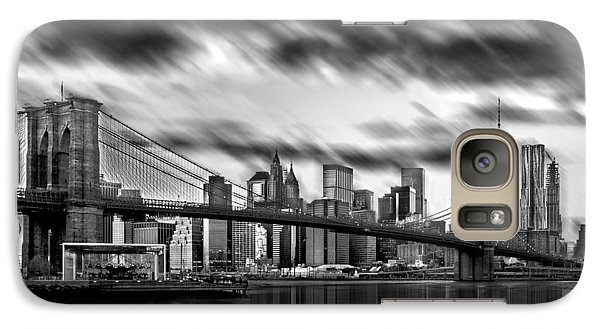 Manhattan Moods Galaxy S7 Case by Az Jackson