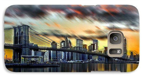 Manhattan Passion Galaxy S7 Case by Az Jackson