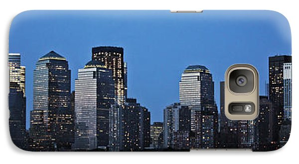 Galaxy Case featuring the photograph Manhattan Skyline by John Haldane
