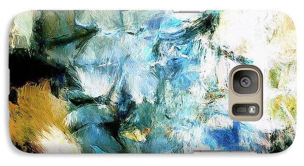 Galaxy Case featuring the painting Manifestation by Dominic Piperata