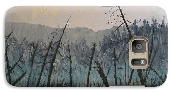 Galaxy Case featuring the painting Manitoulin Beaver Meadow by Ian  MacDonald