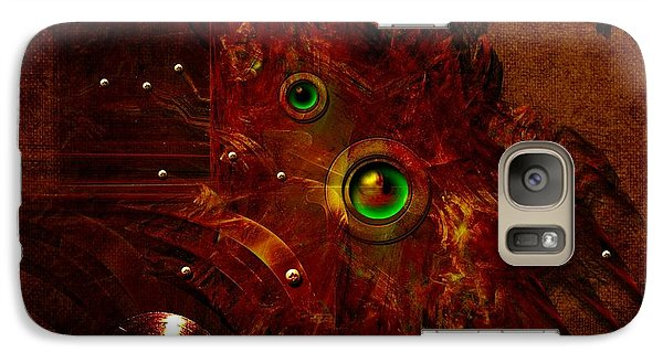 Galaxy Case featuring the digital art Manometer by Alexa Szlavics