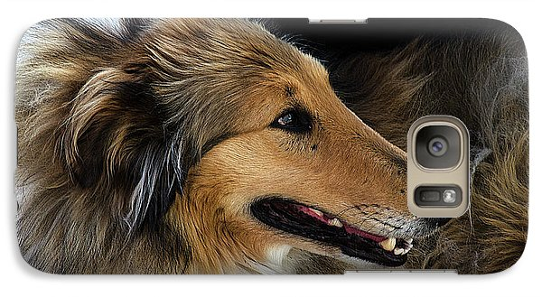 Galaxy Case featuring the photograph Man's Best Friend by Bob Christopher