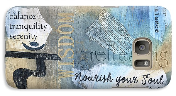 Mantra Galaxy Case by Debbie DeWitt