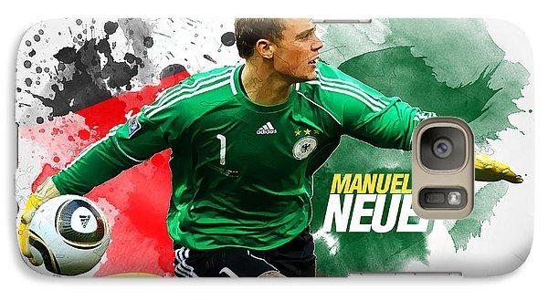 Manuel Neuer Galaxy S7 Case by Semih Yurdabak