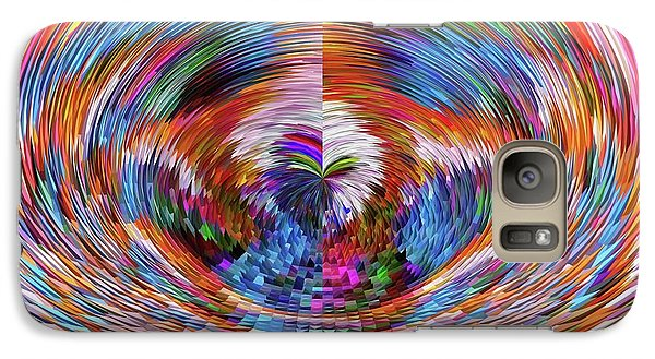 Galaxy Case featuring the digital art Many Colors Of Love  by Annie Zeno