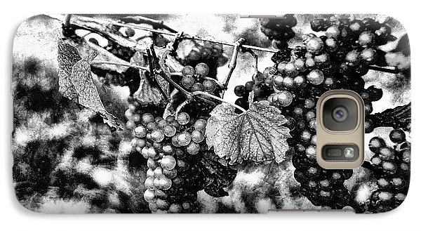 Galaxy Case featuring the photograph Many Grapes by Rick Bragan