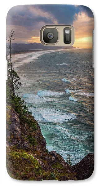 Galaxy Case featuring the photograph Manzanita Sun by Darren White