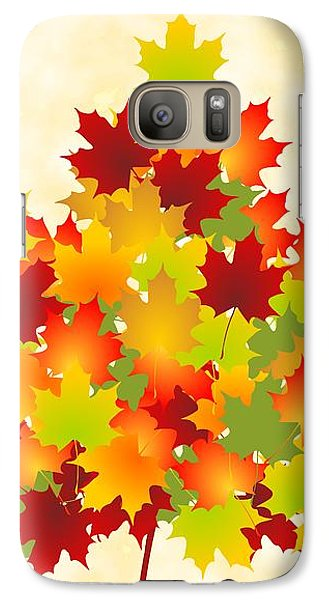 Maple Leaves Galaxy S7 Case