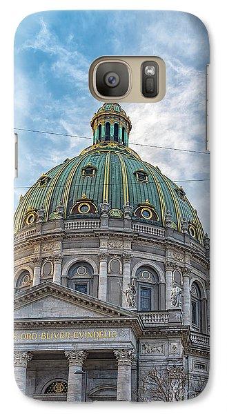 Galaxy Case featuring the photograph Marble Church In Copenhagen by Antony McAulay