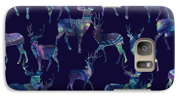 Marble Deer Galaxy Case by Varpu Kronholm