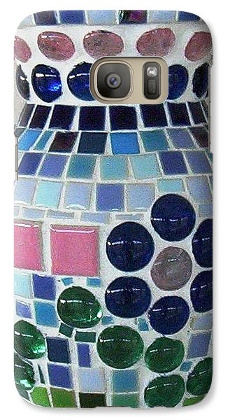 Galaxy Case featuring the glass art Marble Vase by Jamie Frier