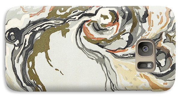 Marbled Pattern Galaxy Case by Georges Barbier