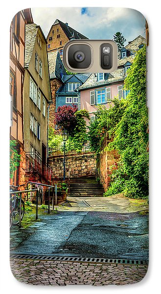 Galaxy Case featuring the photograph Marburg Alley by David Morefield