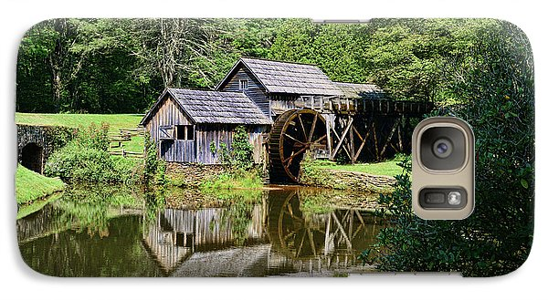 Galaxy Case featuring the photograph Marby Mill 2 by Paul Ward