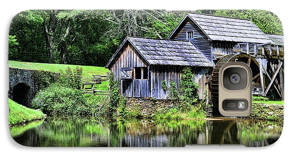 Galaxy Case featuring the photograph Marby Mill 3 by Paul Ward