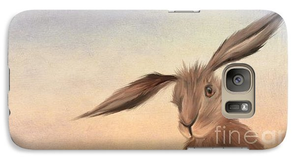 March Hare Galaxy Case by John Edwards