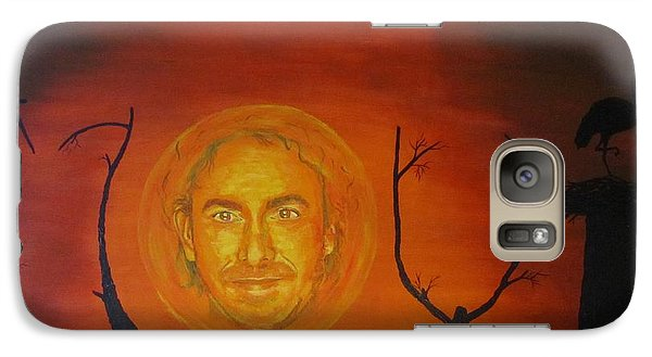 Galaxy Case featuring the painting Marco Borsato by Jeepee Aero