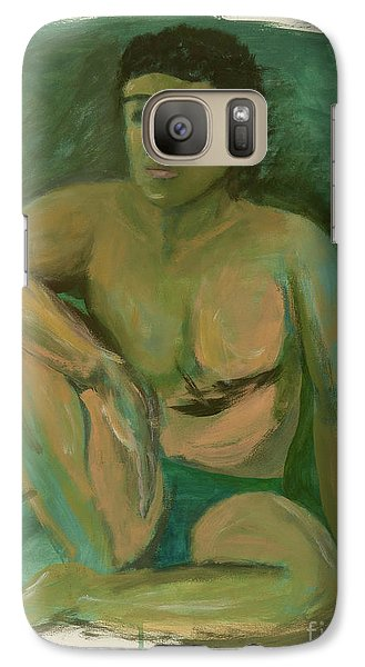 Galaxy Case featuring the drawing Marco by Paul McKey
