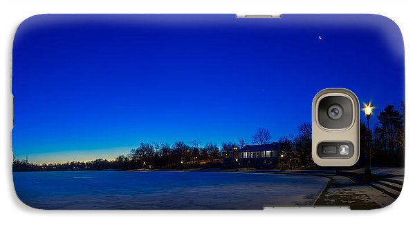 Galaxy Case featuring the photograph Marcy Casino Winter Twilight by Chris Bordeleau