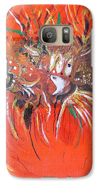 Galaxy Case featuring the painting Mardi Gras 2 by Gary Smith
