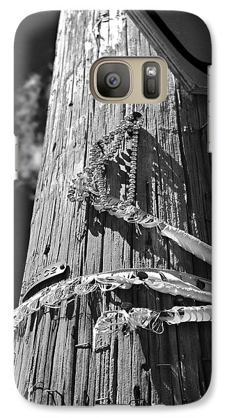 Galaxy Case featuring the photograph Mardi Gras Aftermath 1 by Maggy Marsh
