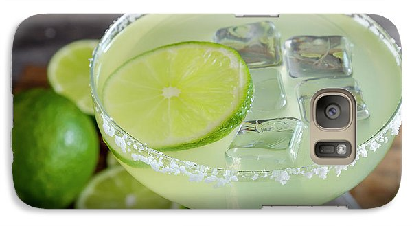 Galaxy Case featuring the photograph Margarita Close Up by Teri Virbickis