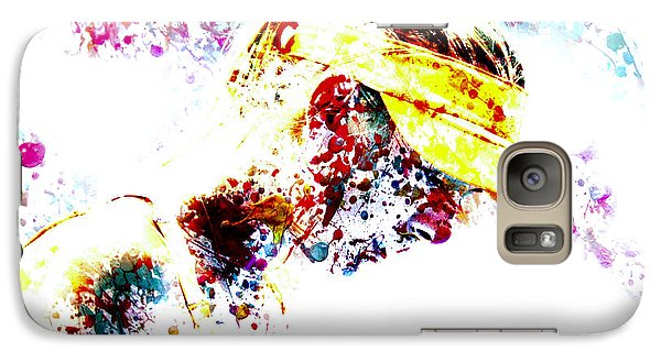 Maria Sharapova Paint Splatter 4p                 Galaxy S7 Case by Brian Reaves