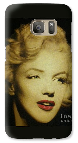 Galaxy Case featuring the photograph Marilyn by Elizabeth Coats