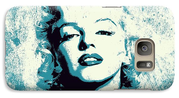 Marilyn Monroe - 201 Galaxy S7 Case by Variance Collections