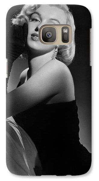Marilyn Monroe Galaxy S7 Case by American School