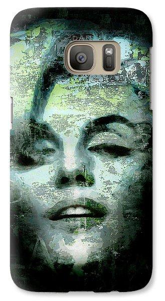 Galaxy Case featuring the digital art Marilyn Monroe by Kim Gauge