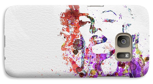 Marilyn Monroe Galaxy S7 Case by Naxart Studio