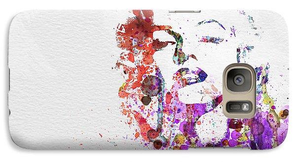 Marilyn Monroe Galaxy S7 Case by Naxart Studio