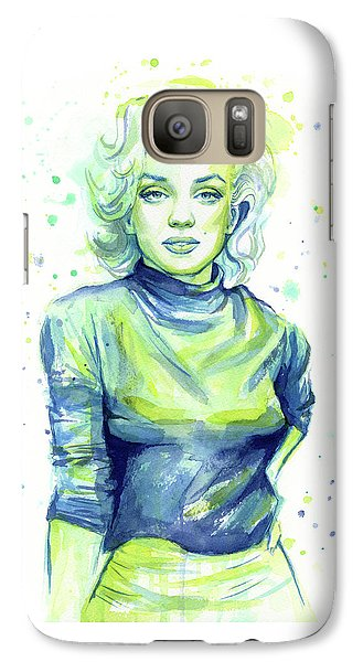 Marilyn Monroe Galaxy S7 Case