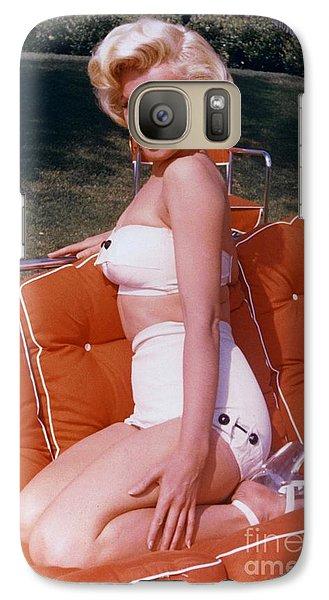 Marilyn Monroe Galaxy S7 Case - Marilyn Monroe by The Titanic Project