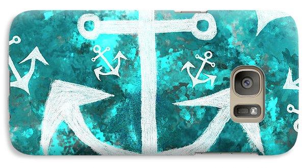 Maritime Anchor Art Galaxy S7 Case