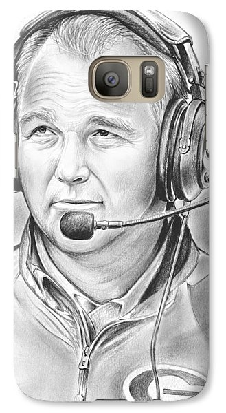 Sports Galaxy S7 Case - Mark Richt  by Greg Joens