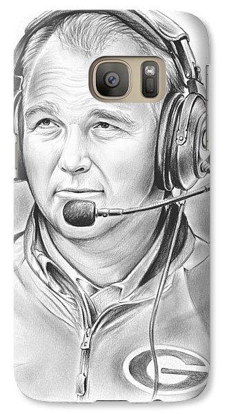 Mark Richt  Galaxy S7 Case by Greg Joens
