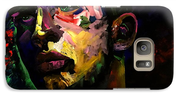 Galaxy Case featuring the painting Mark Webster Artist - Dave C. 0410 by Mark Webster Artist