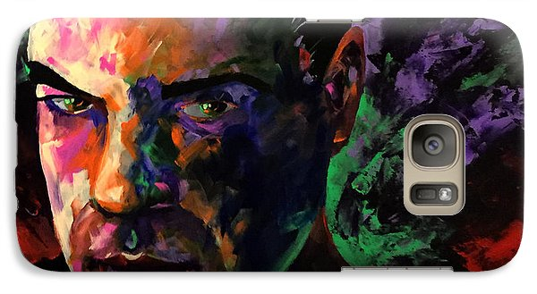 Galaxy Case featuring the painting Mark Webster Artist by Mark Webster