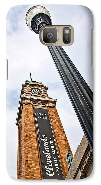 Market Clock Tower Galaxy S7 Case