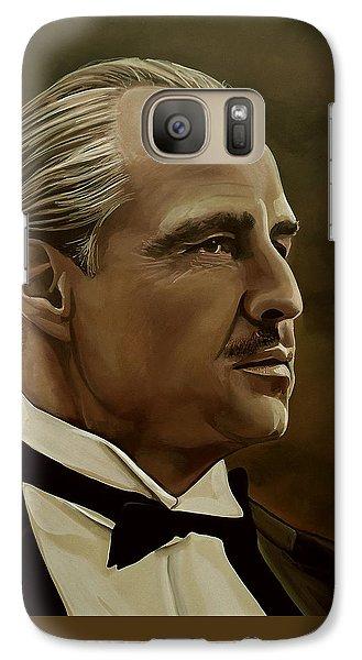 Marlon Brando Galaxy S7 Case by Meijering Manupix